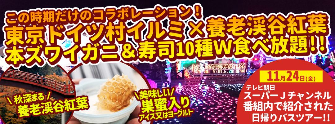 テレビ朝日|スーパーJチャンネル!で紹介されたオススメ日帰りバスツアー