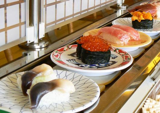 大ネタ回転寿司