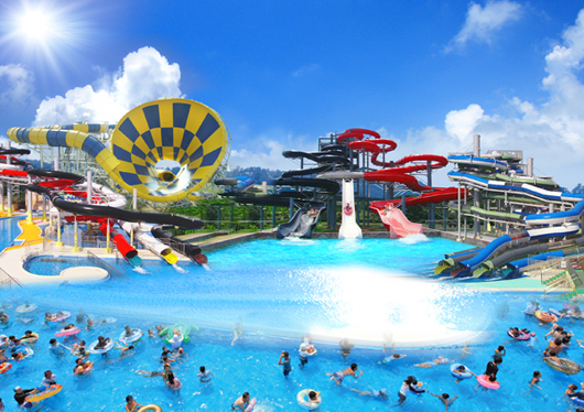 《スーパーパスポート付》日本海と芝生の「遊ぶテーマパーク」芝政ワールド日帰りバスツアー