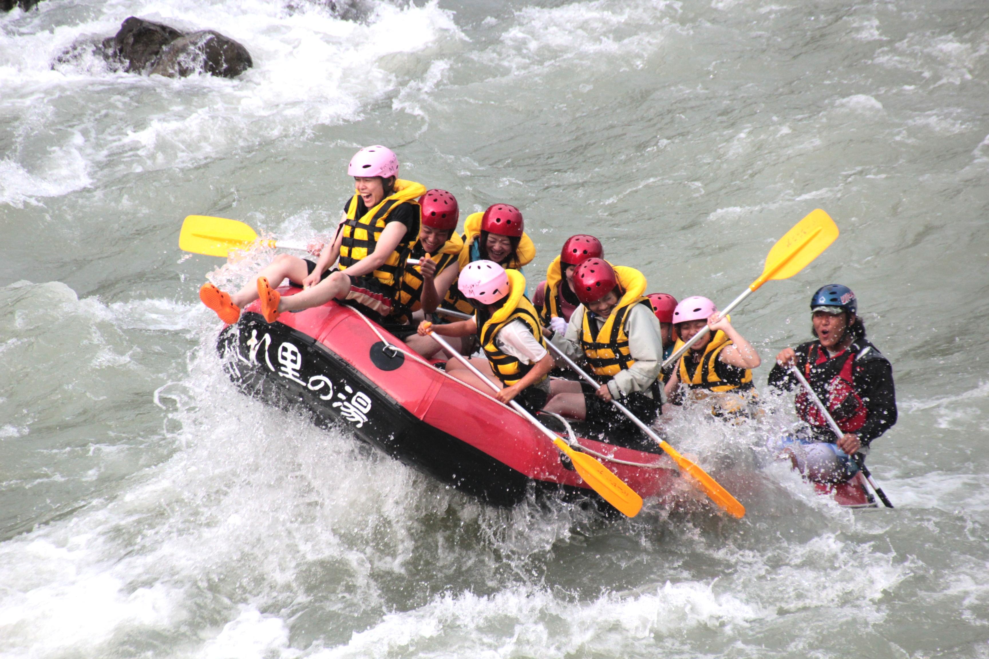 ●【博多発着】日帰りバス旅 夏はハジけろ!!日本三大急流の球磨川でラフティングで暑さを乗り切ろう!