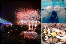 横浜で過ごす夏休み!横浜中華街散策と八景島シーパラダイス『花火シンフォニア』&BBQ食べ放題ディナーにアウトレットショッピング♪