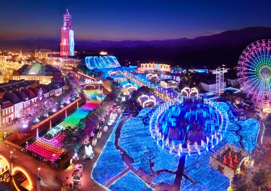●【10-12月出発】秋も冬もハウステンボスはイベント盛りだくさん!<博多又は天神発>往復バスで行くハウステンボス日帰りプラン