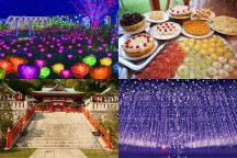 """【栃木】イルミの季節がやってきた!果実畑の隠れ家ビュッフェでイタリアン食べ放題&""""光の花の庭""""あしかがフラワーパーク♪佐野アウトレットでお買物♪"""
