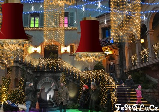世界のクリスマス。本当のクリスマスに出逢える場所!光のイベント「フェスタ・ルーチェ」&有田みかん狩り 日帰りツアー!