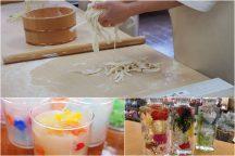 やまなし体験満載! ほうとう麺打ち・キャンドル作り・ハーバリウム作り体験&ハーブ庭園クリスマスイルミネーション