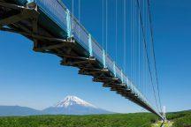 空中絶景!富士を眺める2大スポット!日本一の大吊橋「三島スカイウォーク」と360度の大パノラマ「富士見テラス」&昼食は地魚を使った小田原特製手巻き寿司♪