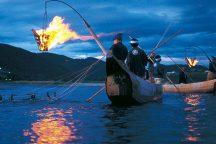 1300年の歴史!ぎふ長良川鵜飼・屋形船で鮎の塩焼き入りお弁当付! 日帰りバスツアー