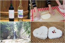 初秋のやまなし体験三昧!ワイン作り体験!ぶどう狩り体験!ほうとう麺打ち体験!ハーブ石鹸作り体験!さぁみんなでやってみよう♪