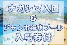 ナガシマスパーランド 入園&ジャンボ海水プール入場券付!
