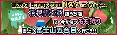 7月9日(火) TBSテレビ「Nスタ」にて紹介!