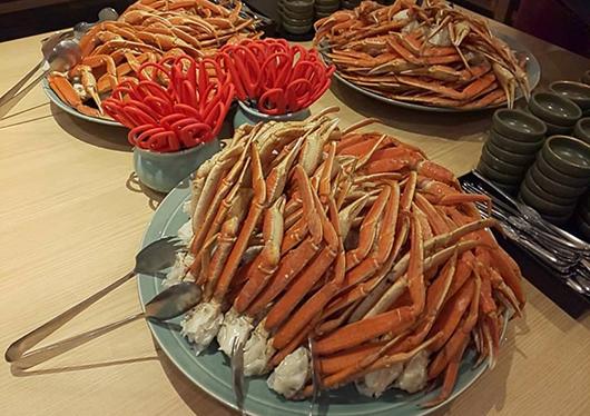 蟹足食べ放題