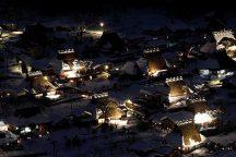 限定企画!美しく灯る、幻想的な美山かやぶきの里「雪灯廊」ライトアップと兵庫を代表する但馬x三田x丹波三大ブランド牛食べ比べ膳付!