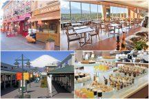 富士山麓の絶景リゾートレストラン『フジヤマテラス』でランチブッフェと御殿場プレミアム・アウトレットでショッピング♪&神秘的な湧水池『忍野八海』散策
