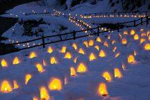 日本夜景遺産「湯西川温泉かまくら祭」の銀世界へ!プレミアムいちご【スカイベリー限定】いちご狩り食べ放題&道の駅ろまんちっく村で気ままに【自由昼食】