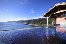 手ぶらで美湯へでかけよう!太平洋を望む絶景温泉!DHCプロデュース『赤沢日帰り温泉館』とパワースポット来宮神社 《ビストロ赤沢 シェフおまかせ洋食ランチ付》