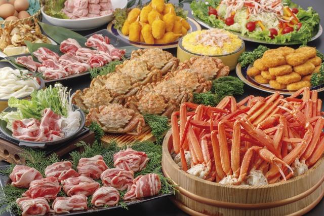 蟹料理食べ放題と伊勢神宮