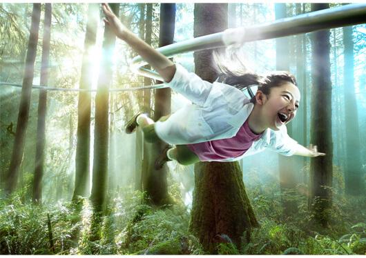 """大自然の冒険テーマパーク""""で本能が揺さぶられる興奮体験を!≪ネスタリゾート神戸≫へ行こう!夏を満喫★昼食はバーベキュー(ビュッフェ形式)をご用意♪"""