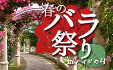 ハイジの村・春のバラ祭り特集