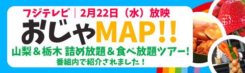 フジテレビ|おじゃMAP!!で紹介されたオススメ日帰りバスツアー