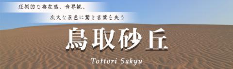 日本一広大な「鳥取砂丘」に行こう。