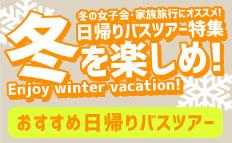 おすすめ!冬を楽しめ!冬休み日帰りバスツアー特集2016-2017